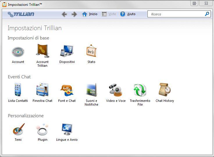 Trillian il programma multichat  3