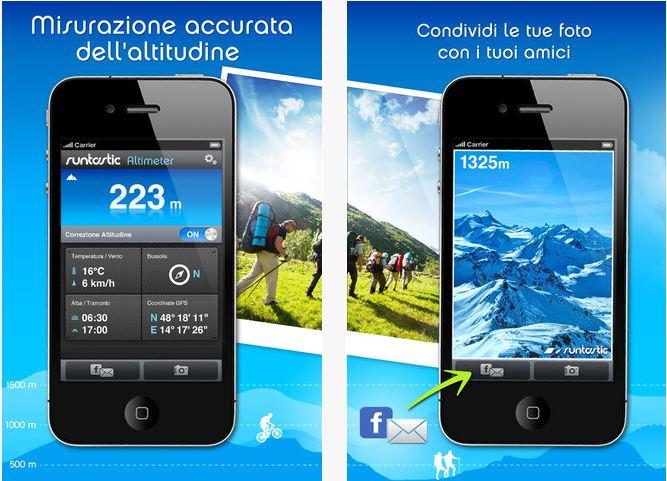 Runtastic Altimetro PRO, l'App per l'outdoor . 1