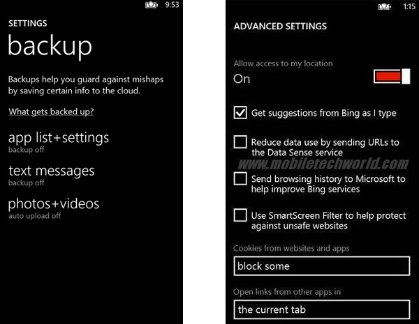 Nuove info di Windows Phone 8 1