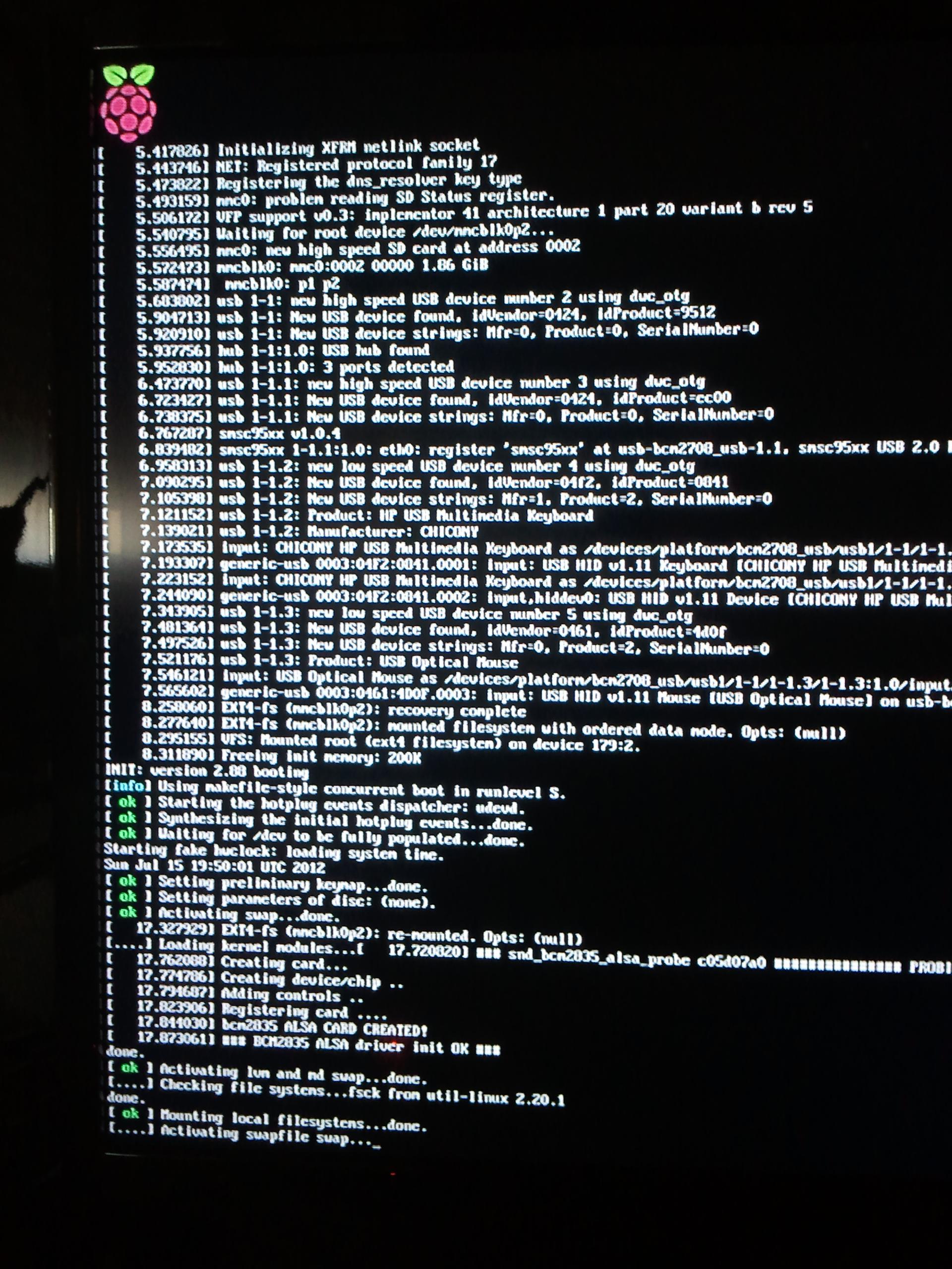 Immagini da Raspberry Pi: Raspbian 3