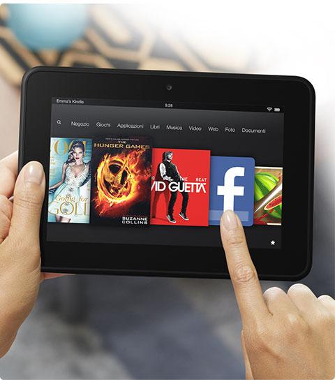 Ecco il nuovo Kindle Fire ! 2