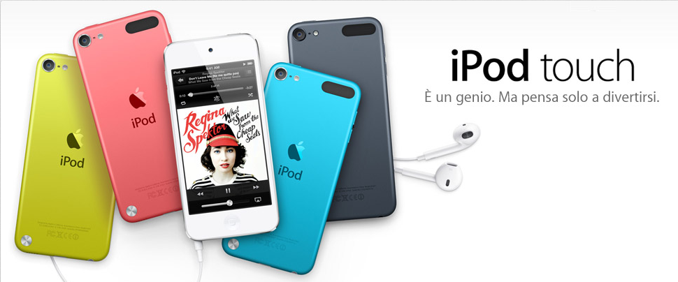 Il nuovo iPod touch 1