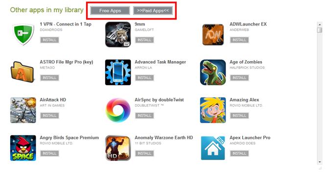 Uno script che ti permette di filtrare le applicazioni del Play Store tra gratis e a pagamento...e non solo! 1