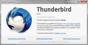 Thunderbird  si aggiorna. 1