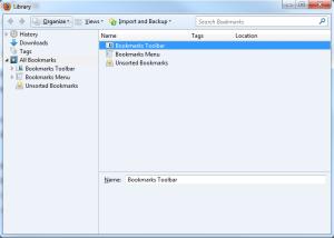 """Come esportare i """"preferiti"""" da Firefox 2"""